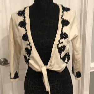White House Black Market Sweater Jacket